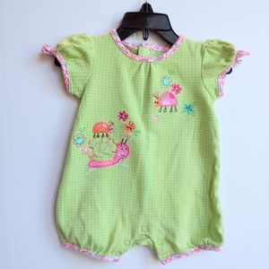 Ladybug Outfit Size 3-6 Months
